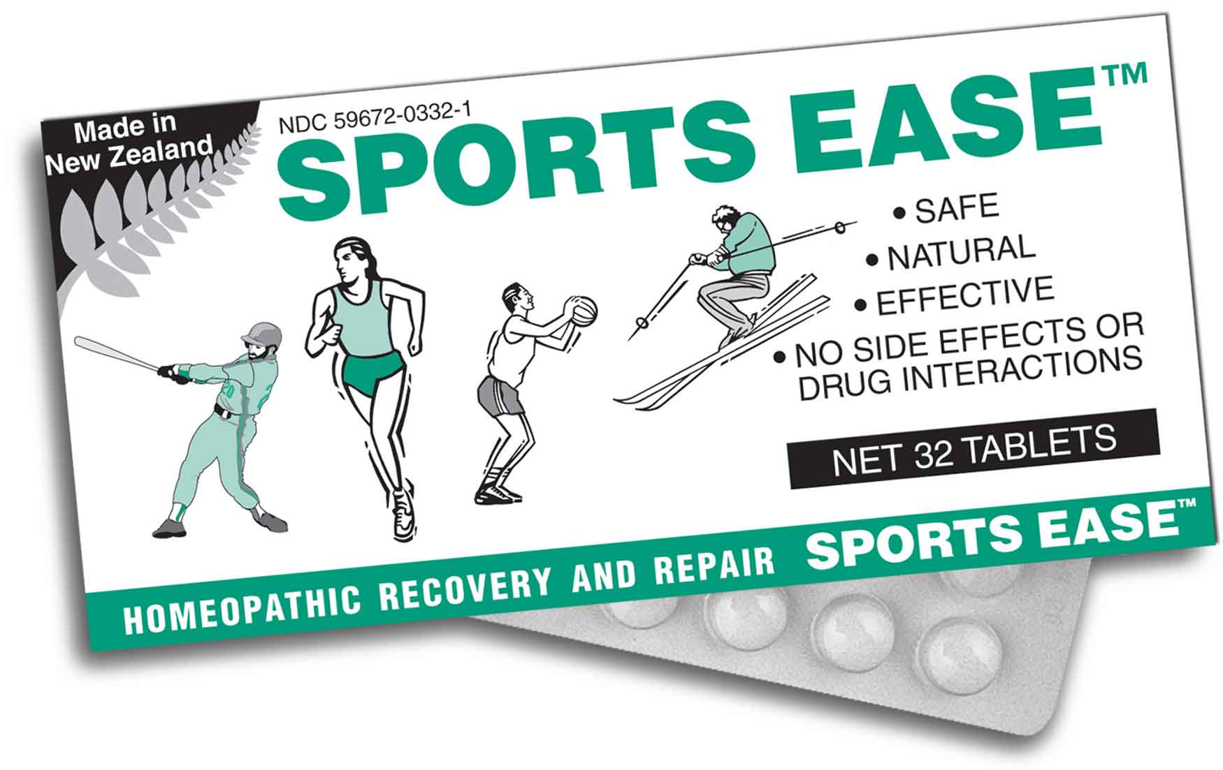 sports ease packet image